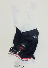 Team Focus Cycling BIB SHORTS (in Black) -made in Italy by GSG