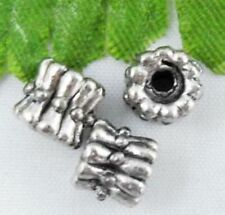 Wholesale 46/100Pcs Tibetan Silver  Spacer Beads 6x6mm(Lead-free)