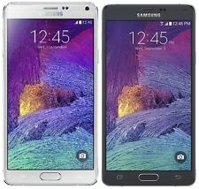 Samsung Galaxy Note 4 SM-N910A - 32GB AT&T (Unlocked) Smartphone - Black - White