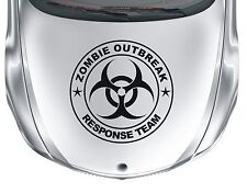 Zombie Oubreak #1 - large vinyl Biohazard wall car van sticker decal - WS1021