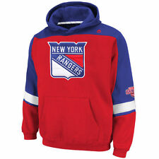 Majestic New York Rangers Red Big & Tall Ice Classic Pullover Hoodie