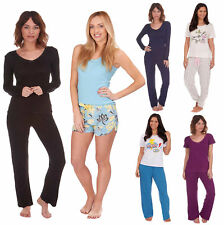 Womens Comfy PJ Pyjama Set Sexy PJ's Pyjamas Ladies Lounge Wear New Styles