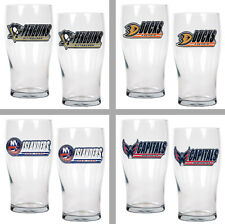 Choose Your NHL Team 2PC 20oz Beer and Ale Pub Glass Set by Great American