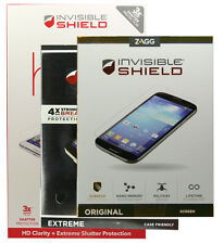 Zagg InvisibleSHIELD Screen Protectors for Samsung Galaxy S3 S4 S5 S6 Note 3 4