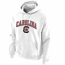 South Carolina Gamecocks White Midsize Arch Pullover Hoodie