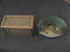 SELLING 2 TWO FISH TANKS 2.5 GALLONS, 1.5 GALLON TANK WITH FREE SHIP IN THE USA!