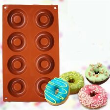 Newest Silicone Donut Baking Cake Chocolate Soap Candy Jelly Mold Mould Pan - LD