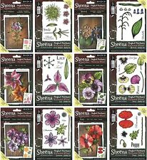SHEENA DOUGLASS VICTORIAN FLORAL PERFECT PARNERS DIES AND STAMPS, MULTIBUYS