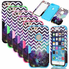 New Armor Shockproof Chevron Anchor Hybrid Matte Case Cover For iPhone 6 6S Plus
