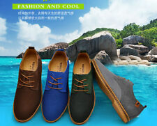 NEW 2015 Suede European style leather Shoes Men's oxfords Casual Fashion