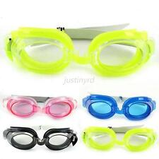 Nose Clip+Ear Plug + Anti fog UV Swimming Swim Goggles Adjustable Glasses  J49