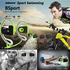Jabees Sport Waterproof Wireless Bluetooth Headphone NFC Headset Mini Earphone