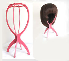 Profession Stable Folding Plastic Durable Wig Hair Cap Holder Stand / Wig Dryer