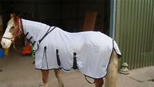 "FAST P& Fly Rug Full Neck+FREE Fly Mask+Belly Flap SZ 3""9""-7""3"" Grey"