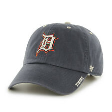 Detroit Tigers 47 Brand Ice Clean Up Adjustable Hat MLB Relaxed  Ball Cap Navy
