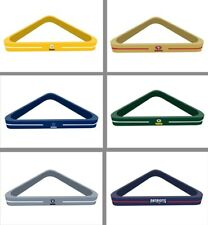 Choose Your NFL Team Solid Wood Billiard Pool Ball Triangle Rack by Imperial
