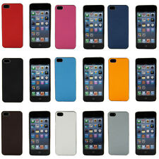 Rubber Tread Chrome Slim Case Cover Skin Or Screen Guards For Apple iPhone 5