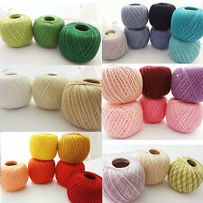 Crochet Cotton Knitting Yarn Size 10 thread 50g 250m Yarnart