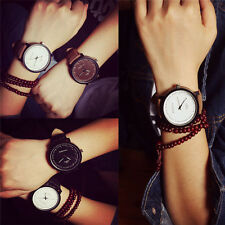 Fashion Lovers Watches Leather Analog Quartz WristWatch Men Women Casual Watches