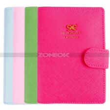 New Travel Utility Simple Passport Cover Holder Case Protector Skin PVC 4 Colors