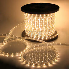 50 100 150 300 Ft LED Rope Light 110V Home Party Christmas Decorative In/Outdoor