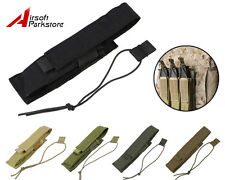 Tactical Military Airsoft Hunting Molle Single Pistol Magazine Mag Pouch Holster