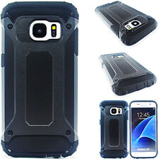 For Samsung GALAXY S6 CASE Hybrid ShockProof Rubber Hard Protective Case Cover