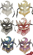 VENETIAN PARTY MASK - Glitter and Beaded - MASQUERADE