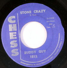 BUDDY GUY: Stone Crazy / Skippin! 45 Blues & R&B