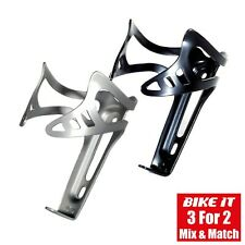 NEW KEIRIN CYCLE WATER BOTTLE CAGE - BOTTLE HOLDER LIGHTWEIGHT ALLOY - 2 COLOURS