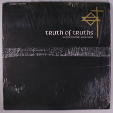 VARIOUS: Truth Of Truths LP (2 LPs, w/ booklet, shrink) Rock & Pop