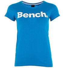 Womens Bench New Deck T-Shirt In Blue A Girl Can Never Have Too Many T-Shirts