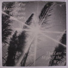 WILLIAMS BROTHERS: The Last Mile Of The Way LP Sealed (drill hole) Black Gospel