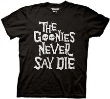 The Goonies Never Say Die Skulls Licensed Movie Cotton Adult T Shirt