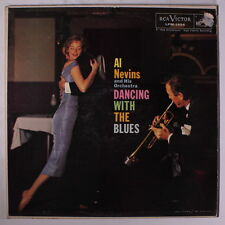 AL NEVINS: Dancing With The Blues LP (Mono, small tag residue on cover, slight