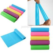 Candy Color Elastic Yoga Pilates Rubber Stretch Resistance Exercise Fitness Band