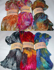 KFI Monarch Ruffle Lace Mesh Yarn 100g Hank Color Choice Knit Crochet FS Offer