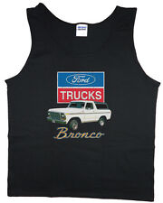 Ford tank top Ford Bronco shirt men's sleeveless tee Ford Bronco tank top black