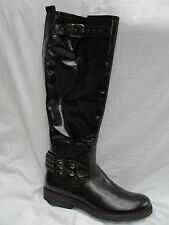 "Fab Lisa Kay ""Missouri"" brown leather knee high boots, RRP £165, BNIB"