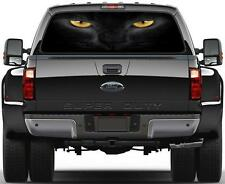 Cat Eyes Rear Window Graphic Decal Sticker Car Truck SUV Van Animals 210