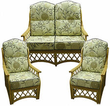 HUMP BACK NEW CANE SUITE CUSHIONS CONSERVATORY WICKER RATTAN FURNITURE by GILDA