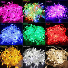 Colorful 10M/20M 100/200LED Bulbs Christmas Fairy Party String Lights Waterproof