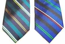 BEN SHERMAN Slim Men's 100% Silk Neck Tie Handmade Striped Morton Wardrobe 2.5