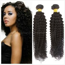 Unprocessed Indian Virgin Human Hair Extension Kinky curly Hair Weave 50g/pc