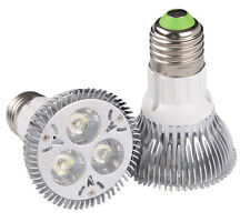 E27 PAR20 9W 85~265V 3X3W LED Spotlight Warm Cool White Energy Saving Bulb Lamp