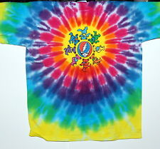 """GRATEFUL DEAD """"SYF CIRCLE BEARS"""" YOUTH TIE DYE T-SHIRT NEW"""