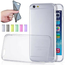 Ultra Thin 0.3mm Clear Rubber TPU Case Back Cover For iPhone 6 4.7inch Soft Case