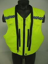 COVER ONLY!! Ex Police Hi Vis Security Stab Bullet Proof Vest Body Armor GB29