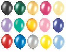 Latex Balloons - Range of 30 COLOURS in 4 SIZES (Party Decorations)