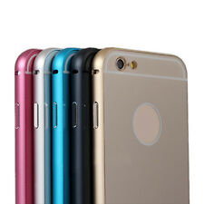 Luxury Aluminum Metal Frame&Acrylic Hard Back Case Cover For iphone 6 4.7Inch